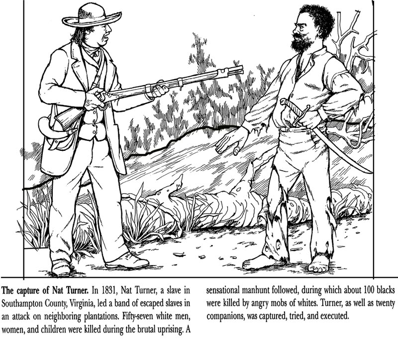 free slavery coloring pages - photo#9