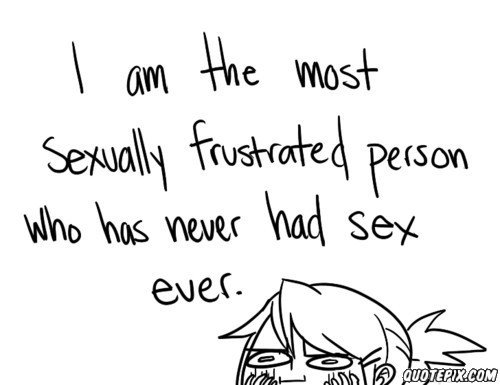 Sexually what frustrated do if to How to