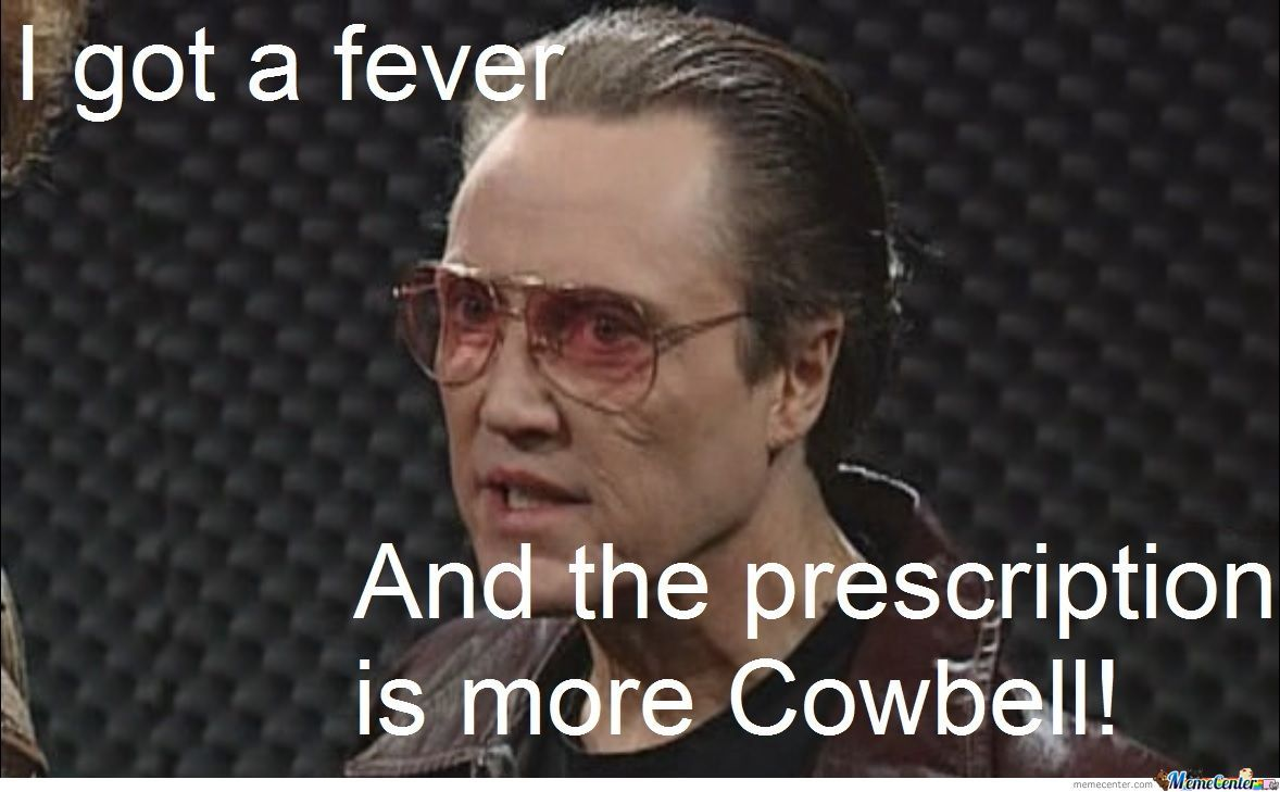 christopher walken cowbell quotes quotesgram