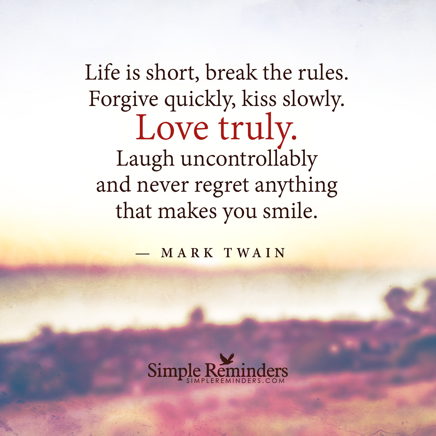 Mark Twain Quotes On Life Quotesgram