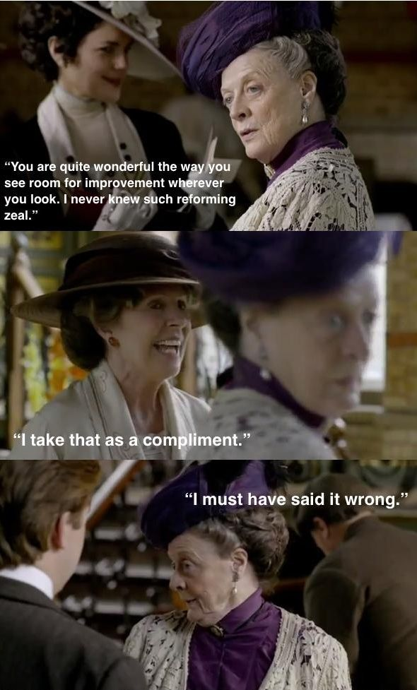 8 Of The Best Violet Crawley Quotes images