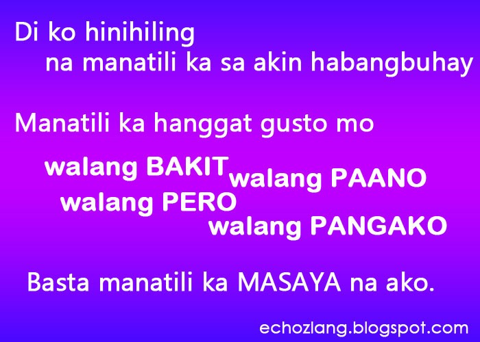 kilig tagalog quotes quotesgram