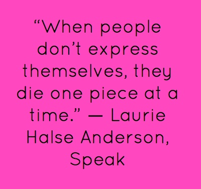 a review of speak a novel by laurie halse anderson Speak - ebook written by laurie halse anderson read this book using google play books app on your pc, android, ios devices download for offline reading, highlight, bookmark or take notes.
