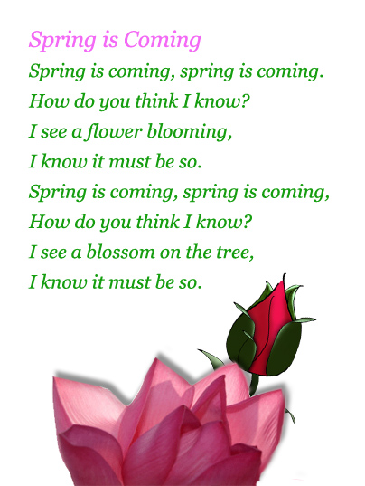 spring poems and quotes  quotesgram