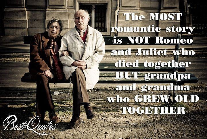 We Will Grow Old Together Quotes: Old Married Couple Quotes. QuotesGram