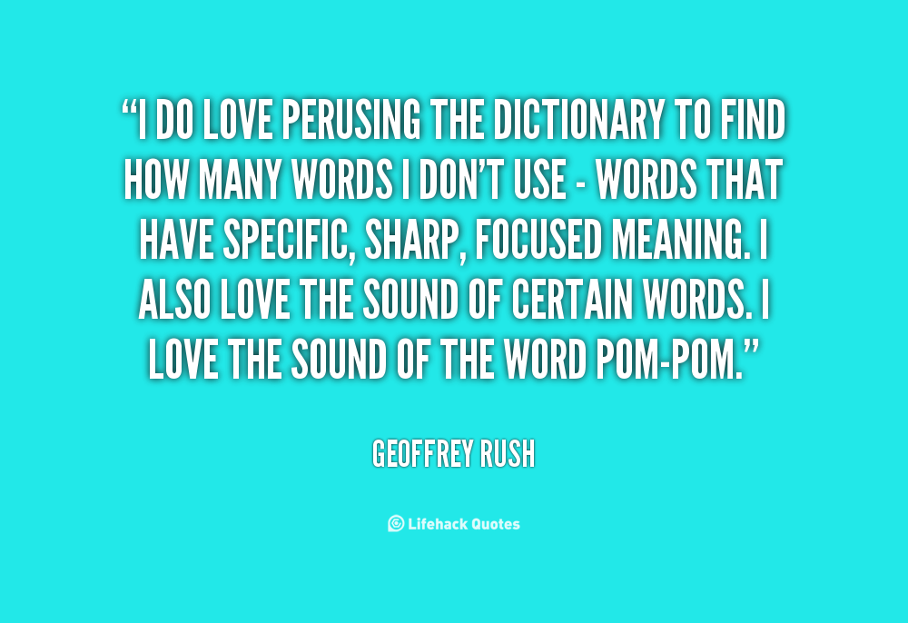 Dictionary quotes