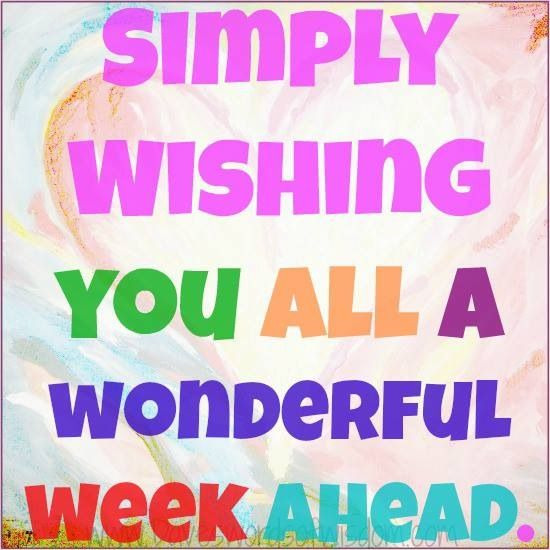 Great Week Ahead Quotes. QuotesGram