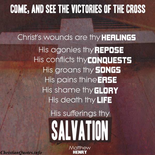 the cross of christ quotes quotesgram