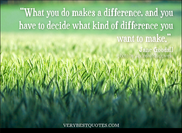 making a difference motivational quotes quotesgram