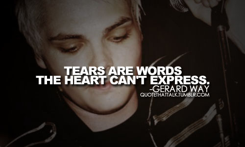 Gerard Way Quotes About Girls. QuotesGram
