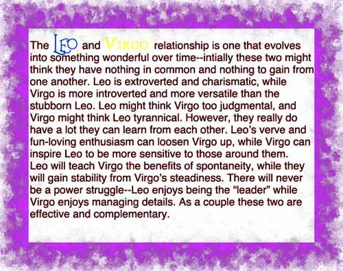 Leo Virgo Love Quotes Quotesgram