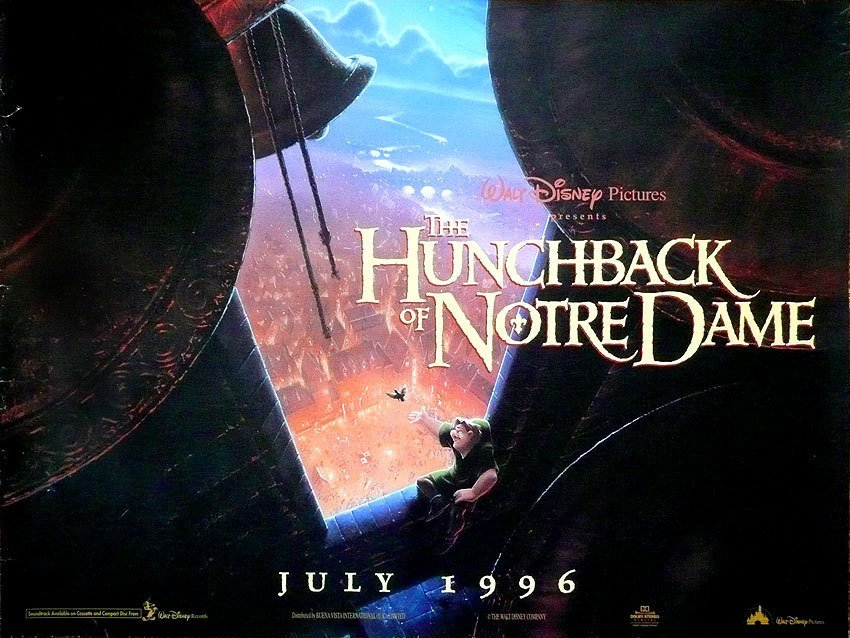 """a film analysis of the hunchback of notre dame The animated film """"the hunchback of notre dame"""" is more explicit in adult a tv show/miniseries of the story of the hunchback of notre dame from esmeralda's."""
