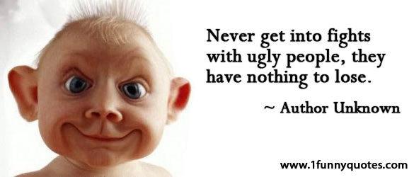 Ugly people most Irish men
