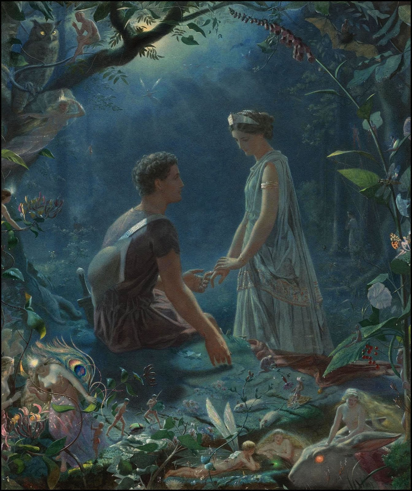 portrayal of love in a midsummer The comedy of love: a midsummer night's dream and twelfth night alert: please  note that  the role of the fool in shakespearean comedy 4 the nature of.