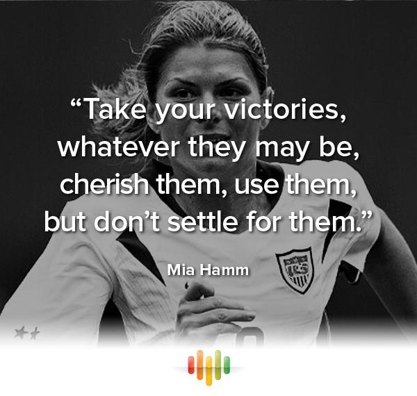 Mia Hamm | AA Soccer/ Futbol | Pinterest | Soccer ...  |Mia Hamm Soccer Quotes