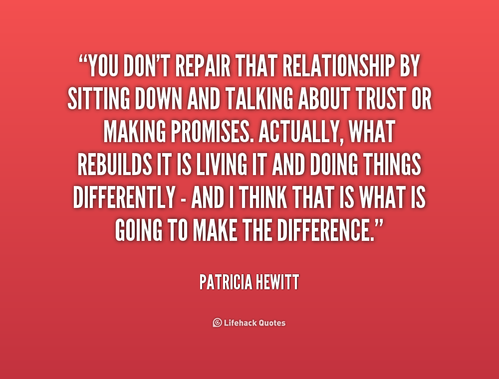 repair broken love relationship