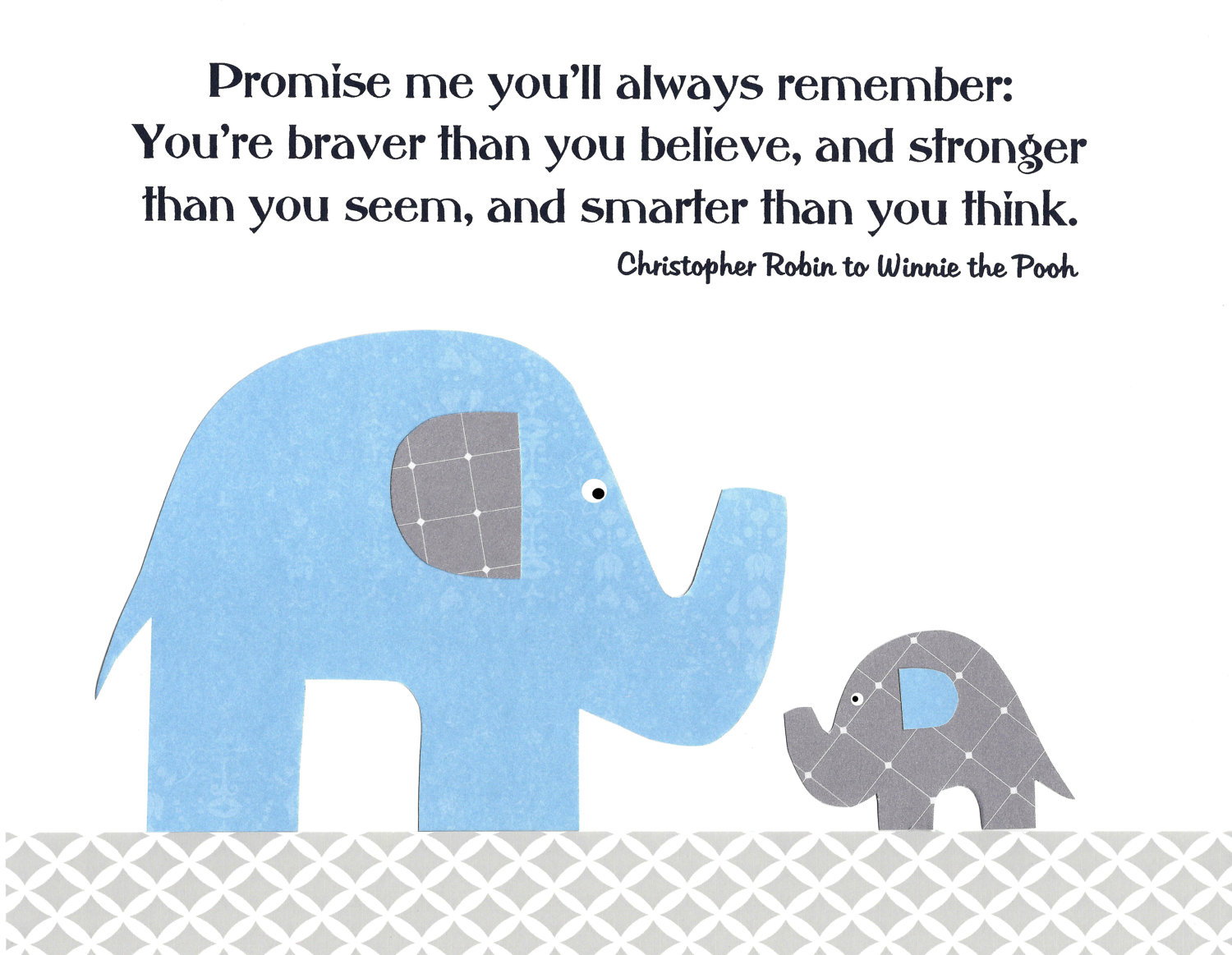Elephant Good Luck Quote: Baby Elephant Quotes. QuotesGram