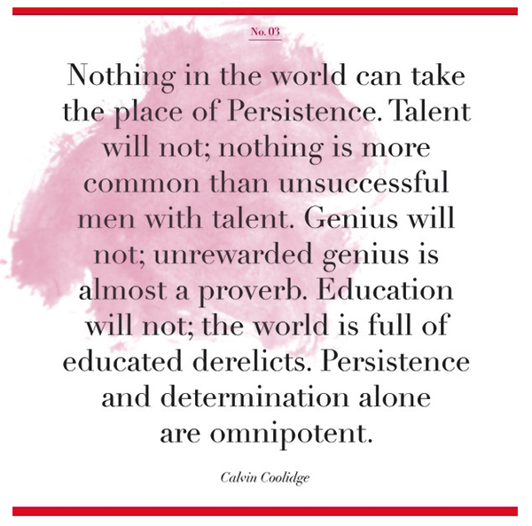 Persistence Motivational Quotes: Perseverance Quotes Coolidge. QuotesGram