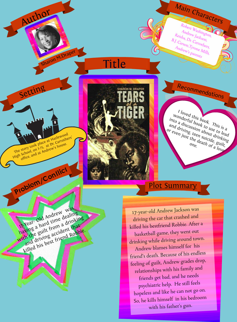 tears of a tiger quotes from the book