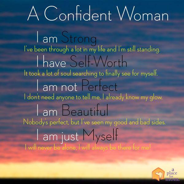I Am Confident Woman Quotes. QuotesGram
