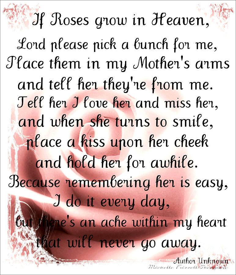 To My Mom Quotes: Missing My Mom Quotes. QuotesGram