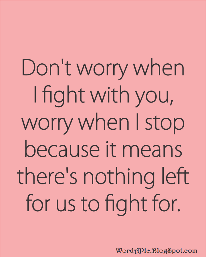 Fighting Quotes: Couples Fighting Quotes. QuotesGram