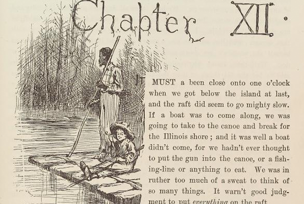huckleberry finn an argument against slavery What did mark twain think of slavery twain laid bare his opinion of slavery in his classic the adventures of huckleberry finn he became a crusader against.