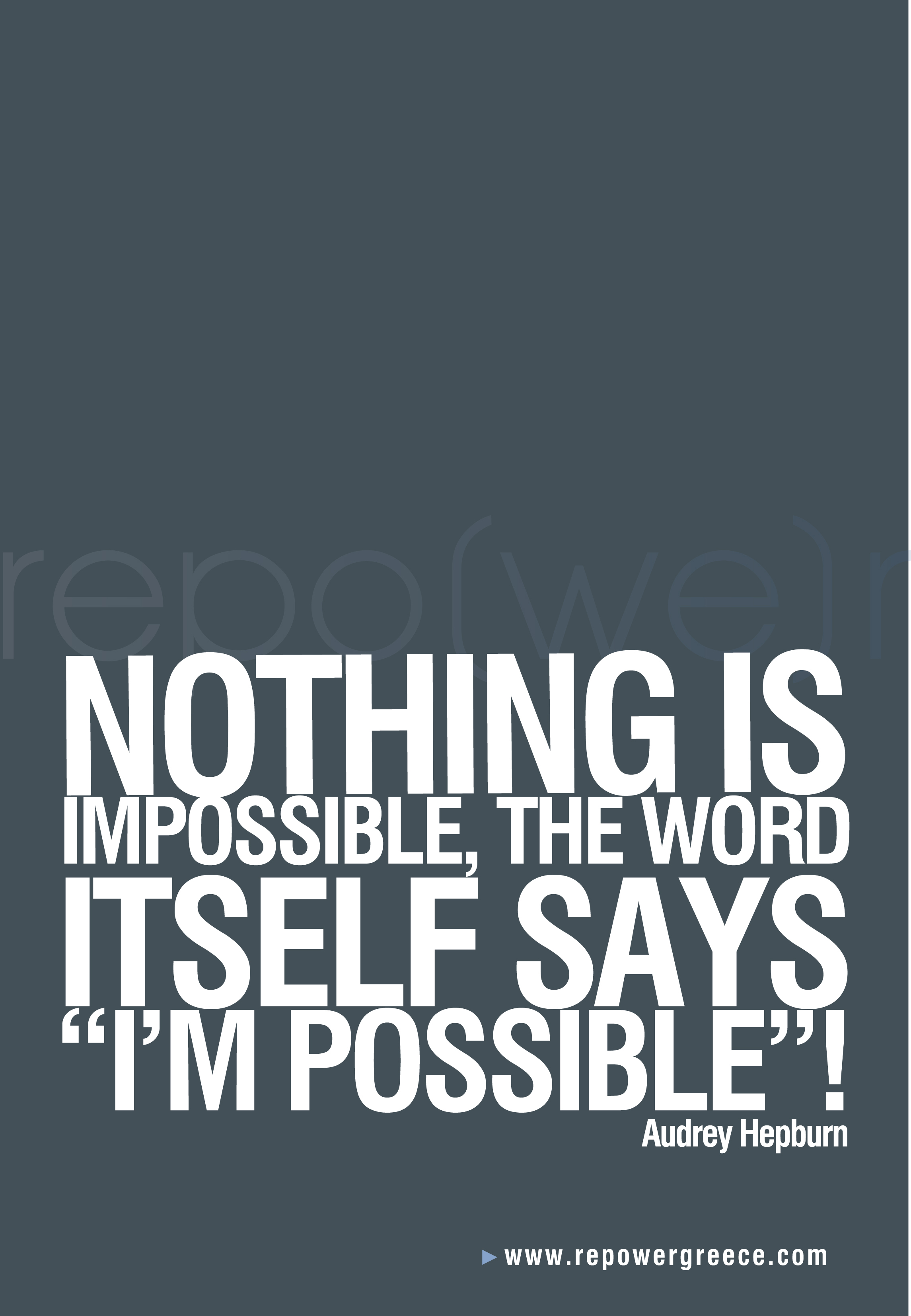 nothing is impossible quotes  nothing is impossible quotes