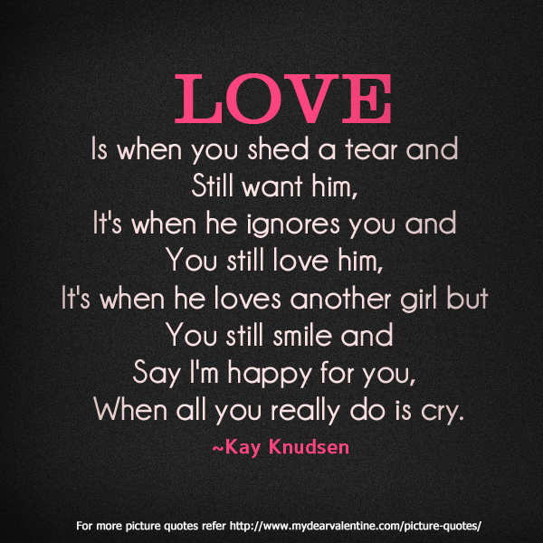 Quotes About Love: Love Hurts Quotes For Him. QuotesGram