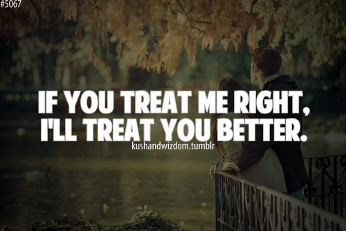 Treat Each Other Right Quotes. QuotesGram