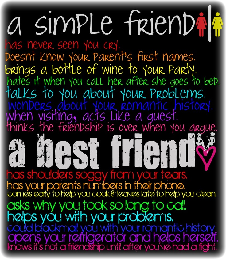 Simple Best Friend Quotes. QuotesGram
