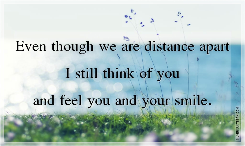 Thinking Of You Quotes: Thinking Of You Miles Apart Quotes. QuotesGram