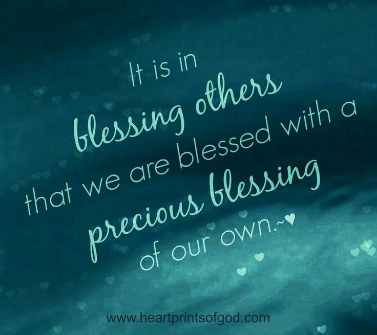 Blessing Quotes Bible: Bible Quotes On Blessing Others. QuotesGram