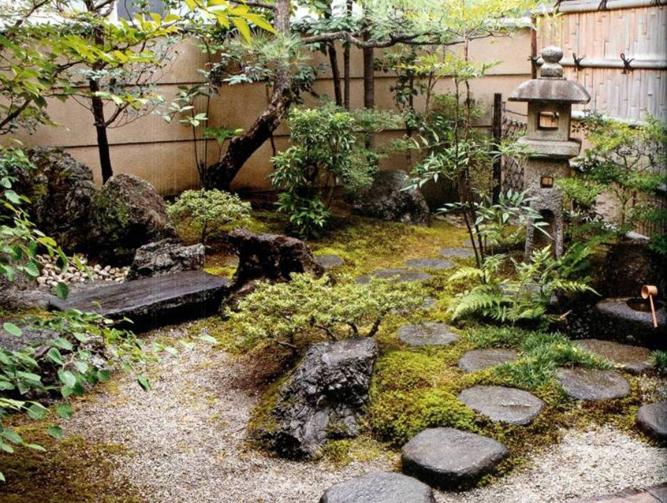 Quotes japanese garden quotesgram for Garden designs for small spaces