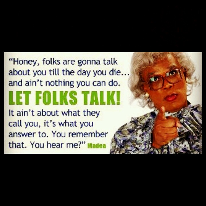 madea good morning