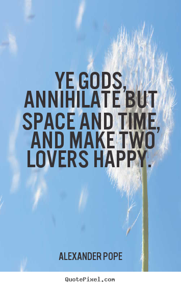 famous quotes about time and space relationship