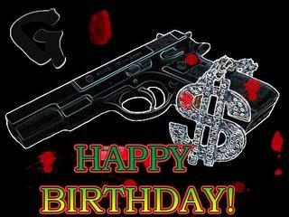 Поздравления с днем рождения от бандитов