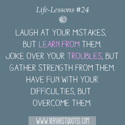 Quotes About Learning Your Lesson. QuotesGram