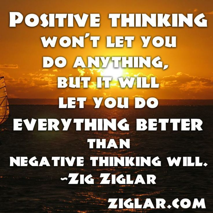 Positive Quotes: Ziglar Positive Thinking Quotes. QuotesGram