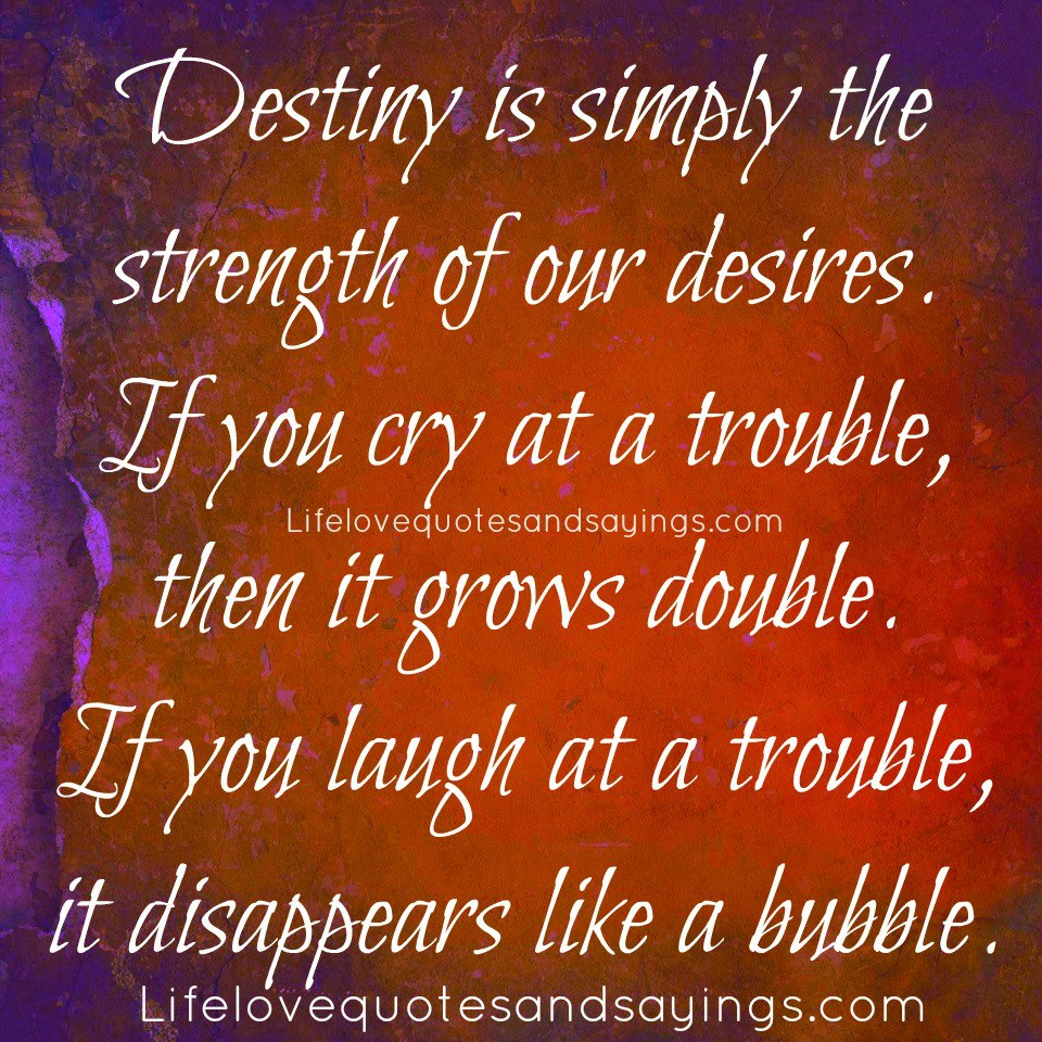 Quotes About True Love And Fate: Destiny Love Quotes. QuotesGram