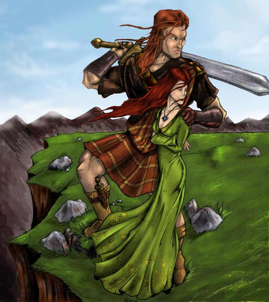 Scottish Warrior Quote...