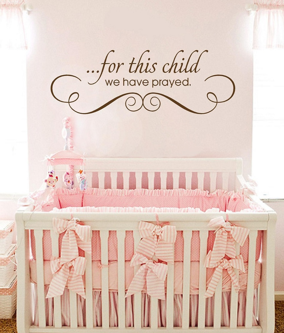 Baby Nursery Wall Quotes Quotesgram