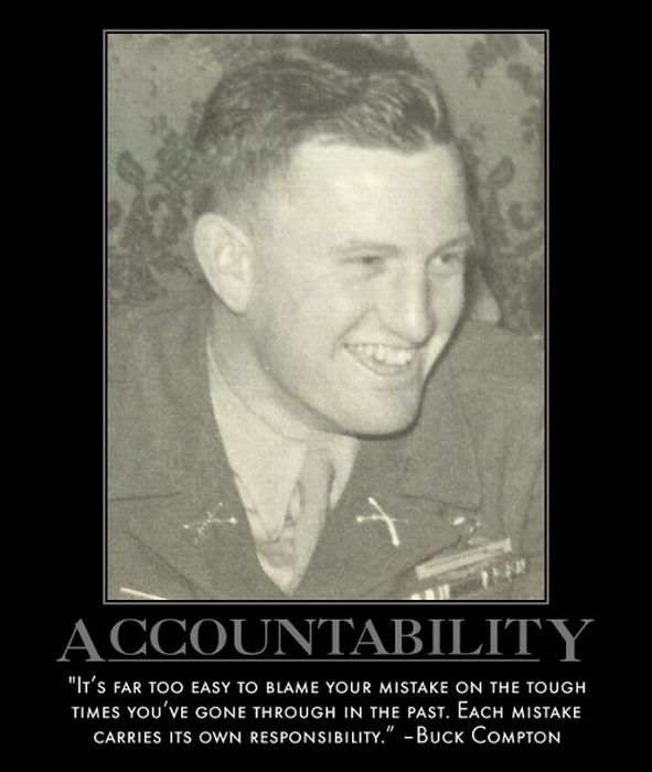 soldier and accountability Property accountability is every soldier's responsibility an obligation imposed by regulation, it is established and maintained through standardized procedures, consistent records, and most.
