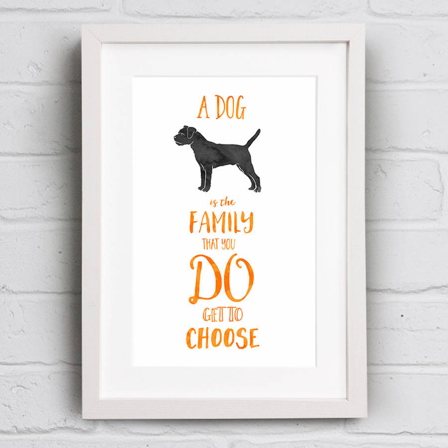 Dog Is Like Family Quote