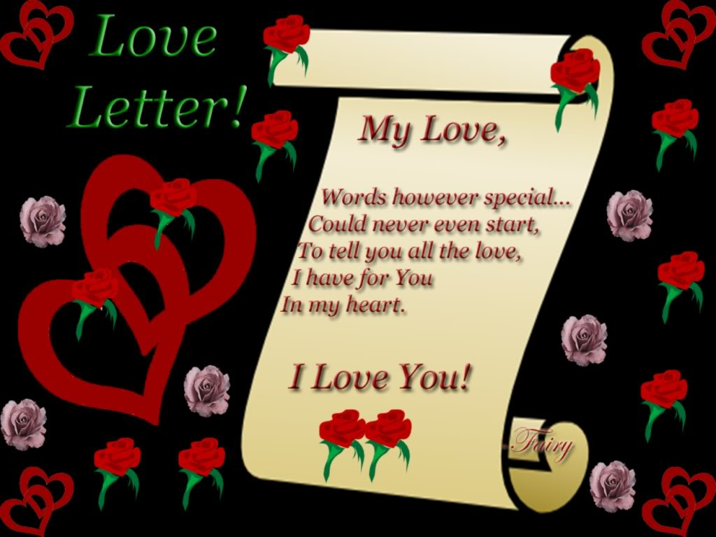 how to express your love for him in a letter