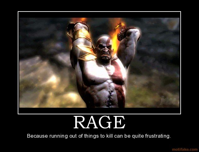 Quotes About Anger And Rage: Kratos Quotes. QuotesGram