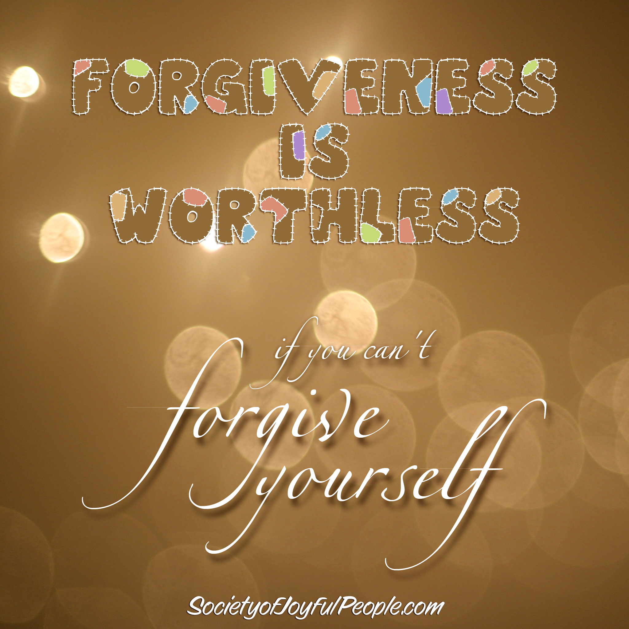 Forgive Yourself Quotes. QuotesGram