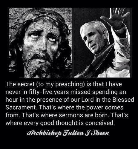 Bishop Sheen Quotes: Fulton Sheen Quotes Saints. QuotesGram