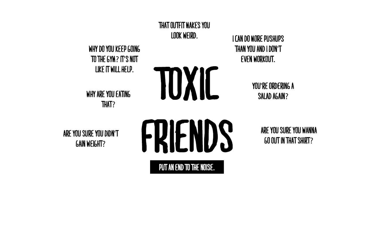 toxic friendships Having friend problems not sure if you're hanging out with the right people take this webmd quiz to find out if your friends are true or possibly toxic.