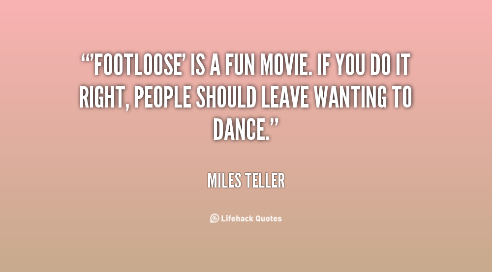 Funny Quotes About Cruise Ships Quotesgram: Funny Quotes From Footloose. QuotesGram